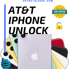UNLOCK AT&T iPHONE TO USE ANY NETWORK/SIM WORLDWIDE - for iPhone 6 7 8 X XS 11 P