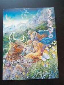 Taurus Zodiac Card