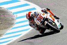 Marco Simoncelli San Carlo Honda Gresini Moto GP USA 2010 Photograph 2