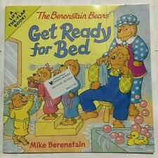 The Berenstain Bears Get Ready for Bed Paperback - NEW