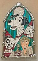 Disney Pins DLR Pin of the Month Windows of Magic Pongo 101 Dalmatians SOLD OUT