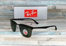 RAY BAN RB3569 90049A Silver Black Dark Green Polarized 59 mm Unisex Sunglasses
