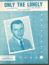 Only the Lonely 1958 Frank Sinatra Sheet Music