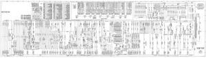 1975 Williams Big Ben Pinball Machine EM Schematic