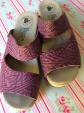 El Natura Lista wooden clogs/sandals size 4