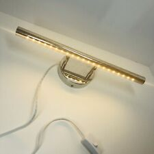 5W Warm White LED Mirror Vanity Bathroom Make-Up Light Plug in with AC Cord