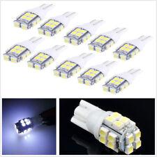 10 PCS T10 Car White 3528 20SMD LED Inverted Side Wedge Bulb No UV/IR Radiation