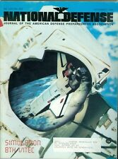 1986 National Defense Magazine: Simulation 8th I/ITEC/Space Shuttle