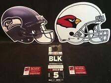 Arizona Cardinals v Seattle Seahawks 9/29 Black BLK Lot Parking Pass Tickets Tix