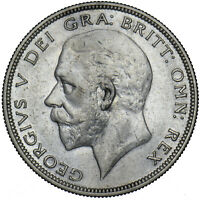 1933 HALFCROWN - GEORGE V BRITISH SILVER COIN - NICE