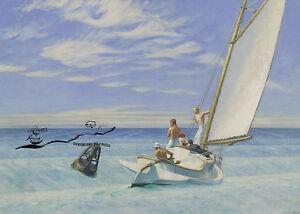 Kunstkarte: Edward Hopper - Dünung