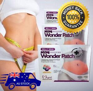 NEW 5x Mymi Wonder Patch Belly Slim Abdomen Slimming Fat Burn Loss