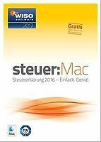 WISO steuer:Mac 2017 (für Steuerjahr 2016 / Frustfre... | Software | Zustand gut