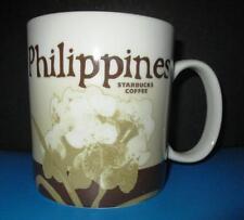 2015 STARBUCKS PHILIPPINES  Flower 16 OZ Orig MUG GLOBAL ICON  discontinued