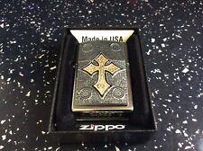 Celtic Cross Zippo Lighter new quality gift.