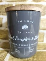 DW Home Farmhouse SMOKED PUMPKIN & HICKORY Scented Candle Double Wick 15 oz.