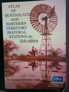 Atlas of Queensland & Northern Territory Pastoral Stations etc 10th Edition*2016