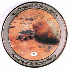 NWA 2986 MARS Meteorite Medal (second series) - by catchafallingstar.com