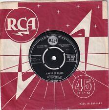 "ELVIS PRESLEY..A MESS OF BLUES..EXCELLENT 1960 RCA ROCK & ROLL / ELVIS 7""..1194"