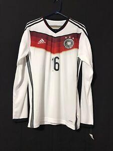 Germany Lahm Adidas Adizero Soccer Player Issue Football Trikot 6 Jersey