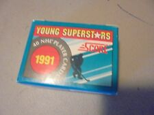 1991 SCORE HOCKEY YOUNG SUPERSTARS 40 CARD SET ,LINDROS,BELFOUR,BLAKE,LINDEN,TUR