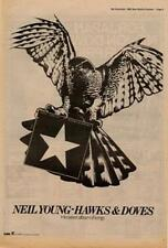 Neil Young Hawks & Doves Advert NME Cutting 1980