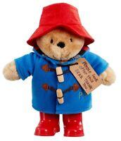 Paddington Bear - Nounours Doux Jouet En Caoutchouc Par Rainbow Designs - PA1489