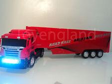 Massive Large Europe Truck Lorry 49cmL Radio Remote Control Headlights Flashing
