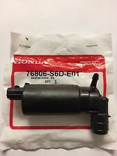 GENUINE HONDA CRV FRONT WINDSCREEN WASHER PUMP / MOTOR 2003-2006