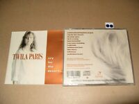 TWILA PARIS Cry For The Desert 1990 cd is Excellent / Booklet is Very good