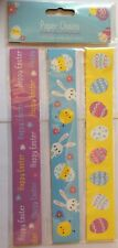 30 x Easter Paper Chains 3 designs Easter Colours