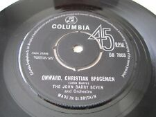 "THE JOHN BARRY SEVEN The Human Jungle / Onward Christian Spacemen UK 7"" VINYL"