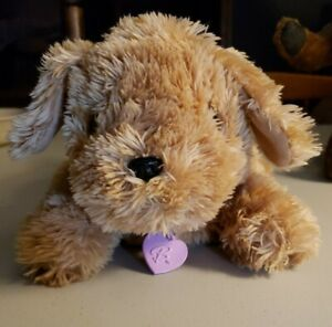"""Vintage 2005 Barbie Mattel 11"""" Plush Puppy makes realistic sounds. So Adorable!"""