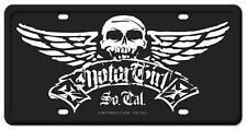 Hot Rod Biker Babe Motor Girl License Plate Man Cave Garage Body Shop CULT013