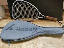 New listing ALL ORIGINAL, Excellent Vintage Hogan Comp Racquetball Racket Marty Hogan