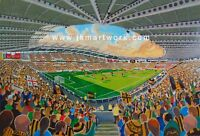 KCOM Stadium Fine Art A4 Print - Hull City Football Club