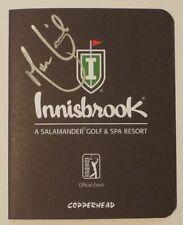 MARTIN LAIRD Autographed INNISBROOK Scorecard-VALSPAR CHAMPIONSHIP