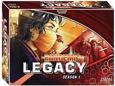 Pandemic Legacy Board Game, Red Season 1