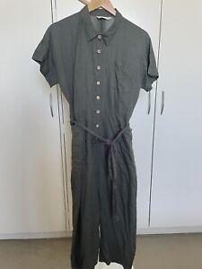 Nancybird Peregian Linen Jumpsuit - Size Medium