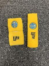 Denver Nuggets Nba Miller Lite Sga Wrist & Sweatband Set