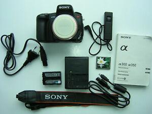 SONY ALPHA @ 300 10,2 MP Digitalkamera Gehäuse -Schwarz TOP!!!