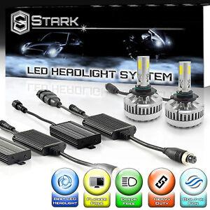 LED 90W 9000LM 6000K 6K White Kit Headlight High Beam Only Bulbs - 9005 / HB3