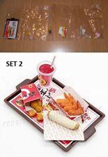 Miniatura re-ment 1:12 Dollhouse Fast Food American Orcara Set #2