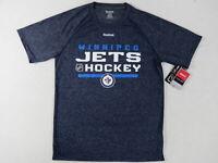 New Reebok Team Issued Winnipeg Jets NHL Pro Stock Hockey Player Gym Shirt Med