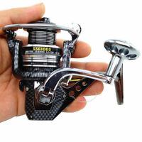 Black Metal Saltwater Freshwater Spinning Fishing Reel SSG 1000-7000