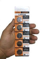 (5pk) 3 Volt CR2025 CR 2025 DL2025 BR 2025 Lithium Button Cell Battery Remote