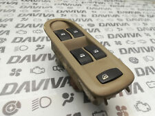 2007 Renault Scenic RHD O/S Driver Power Window Switch Button Trim 8200160603