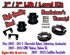 "2007 - 2015 Chevrolet Tahoe GMC Yukon 1500 SUV 3"" FULL LIFT KIT Chevy 07-15 XL"