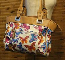 Rosetti Butterfly Floral Purse Shoulder Bag Island Paradise Shopper Butterflies