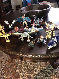 Transformers Beast Wars Transmetal Large Loose Lot Of 13